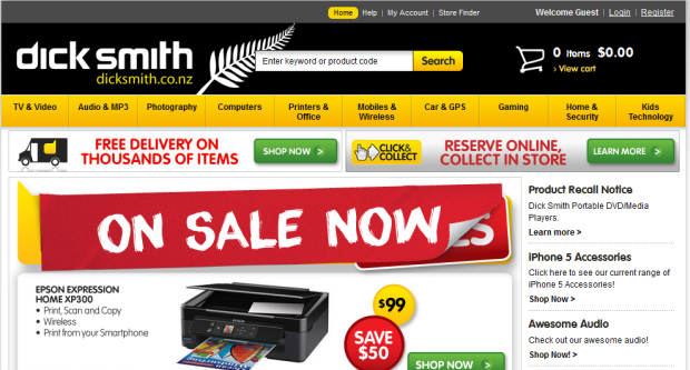 Dick Smith - The Best in Tech at Amazing Prices